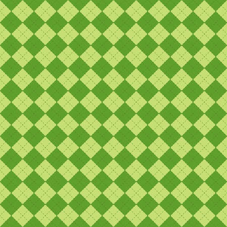 St. Patrick's Day seamless pattern in shades of green vector illustration