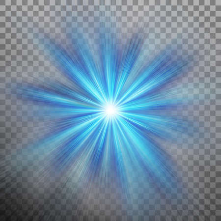 Abstract blue energy with a burst background.