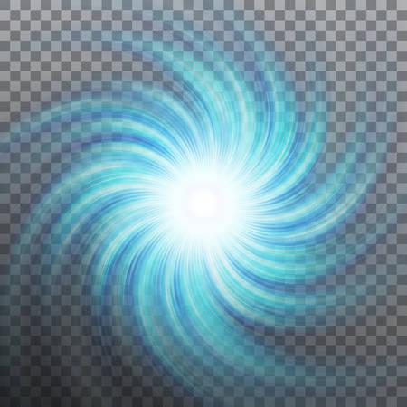 Blue spiral icon. Banco de Imagens - 92735167