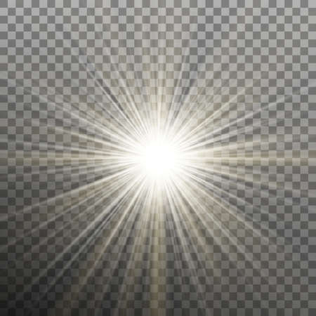 Glow light burst effect on transparent background. And also includes EPS 10 vector