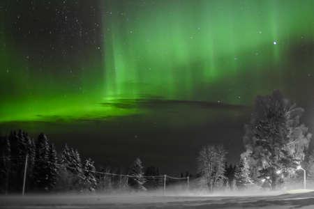 polar light: Dancing lights