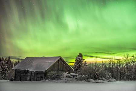 polar light: Winterdream in Northern Sweden