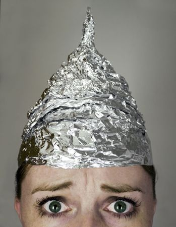 foil: Paranoia Stock Photo