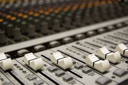 audio mixer: Soundboard