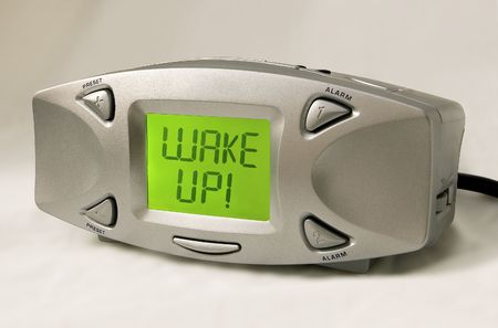 early morning: Wake Up Alarm Clock