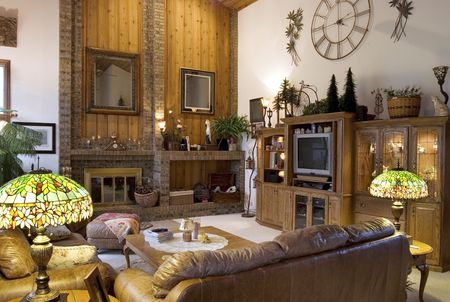 living: Traditional Living Room