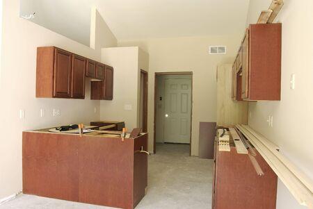 Kitchen Under Construction 스톡 콘텐츠