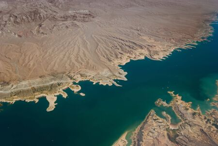 mead: Aerial View of Lake Mead
