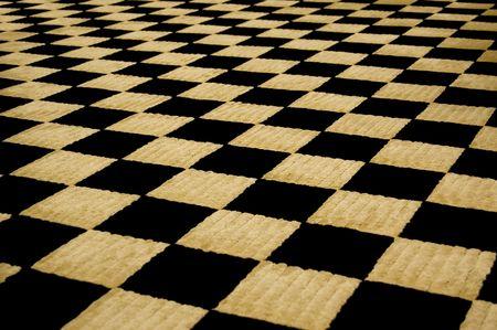 symetry: Checker Board Pattern