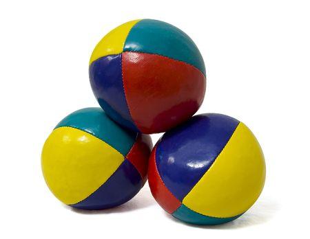 blue balls: Juggling Balls