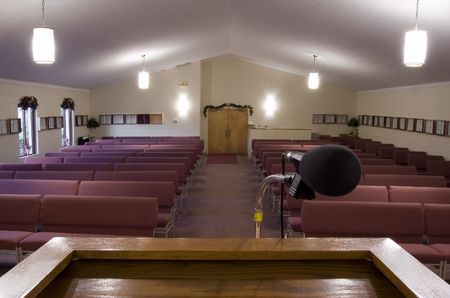 pew: Church View from Pulpit Editorial