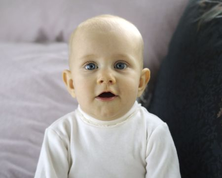 Baby in Awe photo
