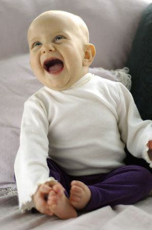 Baby Belly Laugh photo