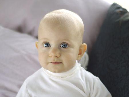 Content Baby Stock Photo - 3558769