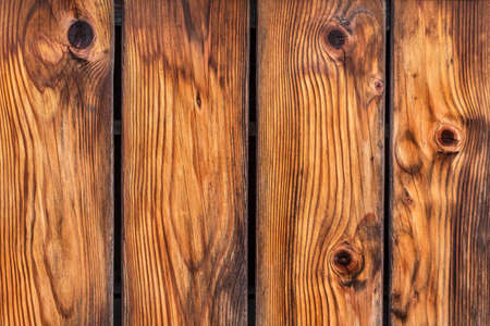 Photograph of antique rustic Pine wood fence - detail  photo