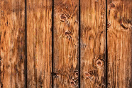 Photograph of antique rustic Pine wood fence - detail