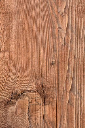 treated: Old, coarse textured, knotted, weathered, cracked, roughly treated, plank surface