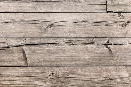 floorboards: Old, coarse textured, knotted, weathered, cracked, roughly treated, floorboards surface texture