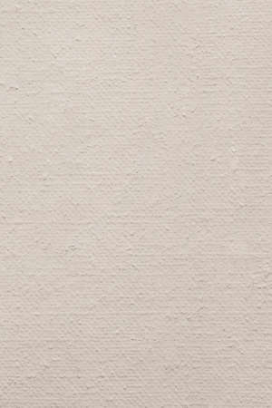 treated: Photograph of primed, roughly treated, artist s Linen duck, coarse grain, canvas texture sample