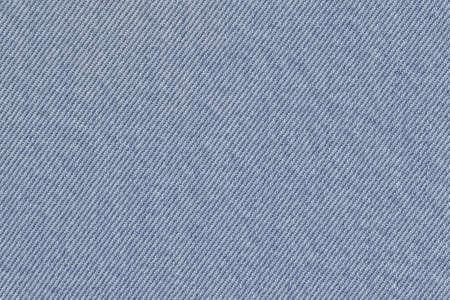 Cotton denim fabric texture sample photo