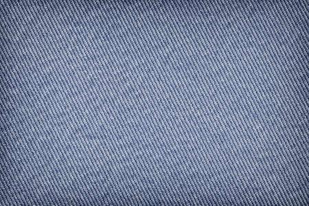 Cotton denim fabric vignette texture sample photo