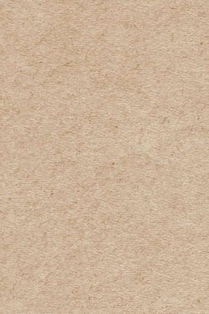 Photograph of light brown recycle paper, extra coarse grain, grunge texture sample photo