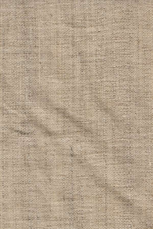 Photograph of un-primed artist s Linen duck coarse grain canvas crumpled texture sample photo