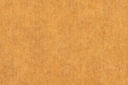 Photograph of recycle striped Vivid Brown Kraft paper, coarse grain, grunge texture sample photo