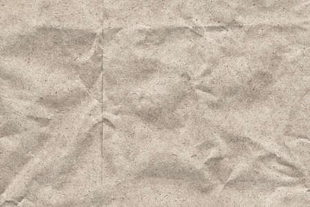 bolsa supermercado: Fotograf�a de reciclaje fuera de bolsa de papel blanco, de grano grueso, arrugado textura grunge - detalle