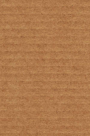 grooved: Photograph of recycle brown corrugated, coarse grain, striped, grooved, cardboard, grunge texture sample Stock Photo