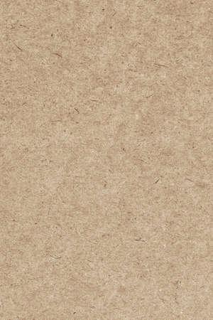 Foto van recycle Light Brown kraftpapier, extra grove korrel, grunge textuur monster Stockfoto