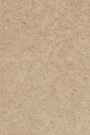 Photograph of recycle Light Brown kraft paper, extra coarse grain, grunge texture sample
