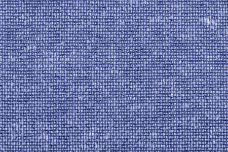 acrylic fiber: Photograph of Deep Violet Acrylic-Polyethylene upholstery and drapery fabric, with woven decorative mesh pattern ? detail.