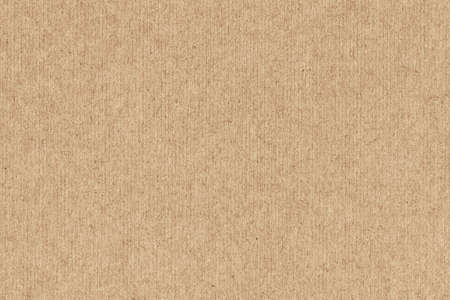 brown paper: Photograph of Yellow Ocher recycle striped paper, extra coarse grain, grunge texture sample.