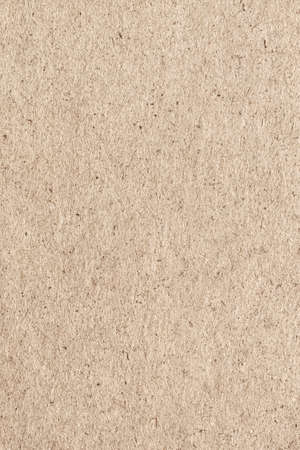 coarse: Photograph of Beige Recycle Kraft Paper, extra coarse grain grunge texture sample. Stock Photo