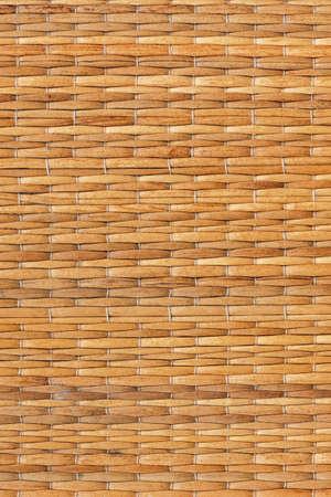 straw mat: Ocher straw mat old grunge texture