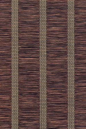 straw mat: Dark Umber brown straw mat grunge texture.