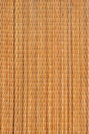 straw mat: Ocher straw mat grunge texture detail