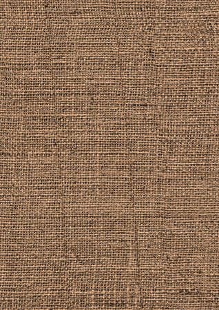 Photograph of roughly woven, extra coarse grain, burlap grunge texture. photo