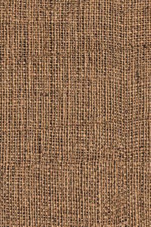 Photograph of roughly woven, extra coarse grain, burlap grunge texture.