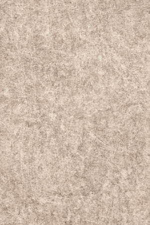 impurities: Photograph of Recycle Beige Paper, coarse grain, bleached, mottled, grunge texture sample.