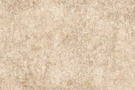 blotted: Photograph of Recycle Beige Paper, coarse grain, bleached, mottled, grunge texture sample.