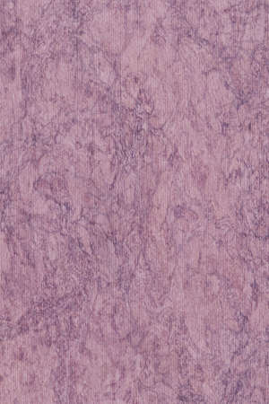 impurities: Photograph of Recycle Purple Striped Pastel Paper, coarse grain, bleached, mottled grunge texture sample.