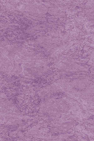 blotted: Photograph of Recycle Purple Striped Pastel Paper, coarse grain, bleached, mottled grunge texture sample.