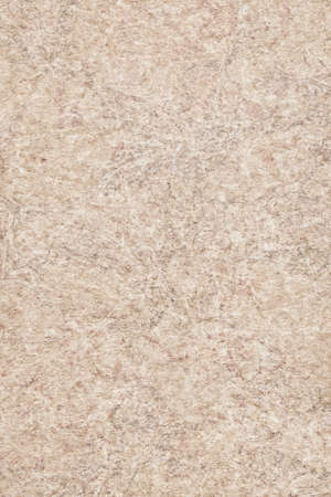 impurities: Photograph of Recycle Beige Paper, extra coarse grain, bleached, mottled, grunge texture sample. Stock Photo