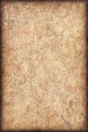mottled: Photograph of coarse grain, Acrylic Primed, Artist Cotton Duck Canvas, bleached, mottled vignette grunge texture.