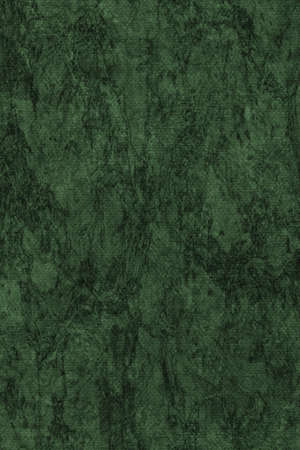 dark pastel green: Photograph of Recycle Dark Emerald Green Pastel Paper, coarse grain, bleached, mottled, grunge texture sample.