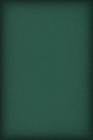 dark pastel green: Photograph of Recycle Dark Emerald Green Pastel Paper, coarse grain, vignette grunge texture sample.