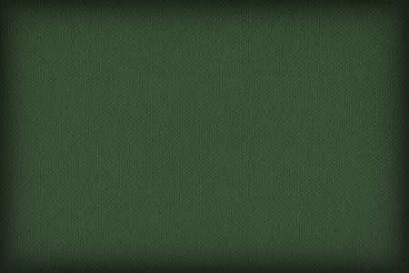 dark pastel green: Photograph of Recycle Dark Kelly Green Pastel Paper, coarse grain, vignette grunge texture sample.