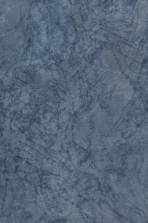 mottled: Photograph of Recycle Dark Powder Blue Pastel Paper, coarse grain, bleached, mottled, grunge texture sample.